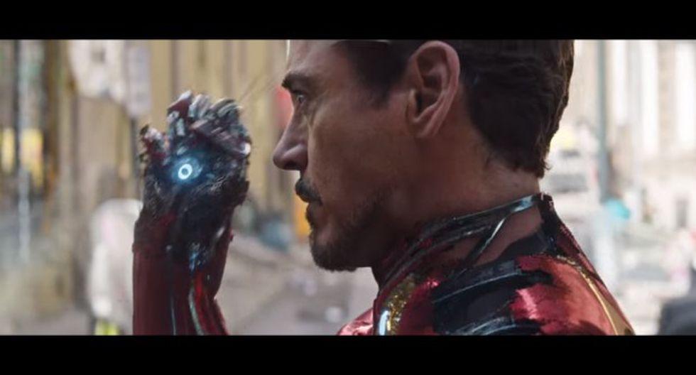 """Avengers: InfinityWar"" lanzó breve adelanto en el evento deportivo Super Bowl 2018. En la imagen, Iron Man (Robert Downey Jr.) se prepara para pelear. (Imagen: Marvel)"