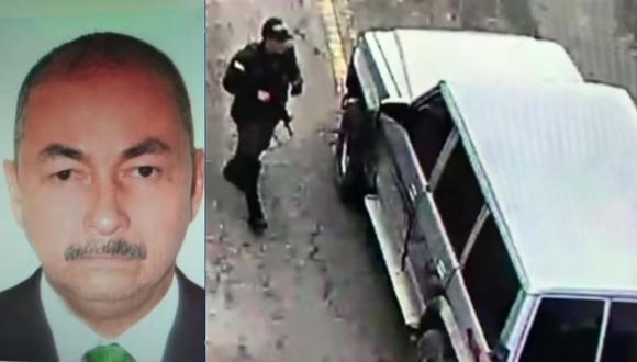 La camioneta que conducía Rojas Rodríguez estaba cargada con 80 kilos de pentolita. (Captura TV).