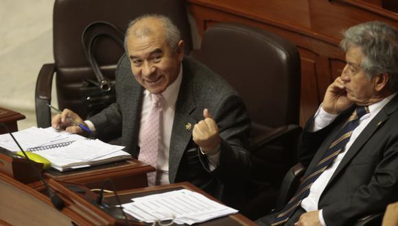 Pedido. Rondón reclama mayor reflexión sobre la propuesta. (César Fajardo)