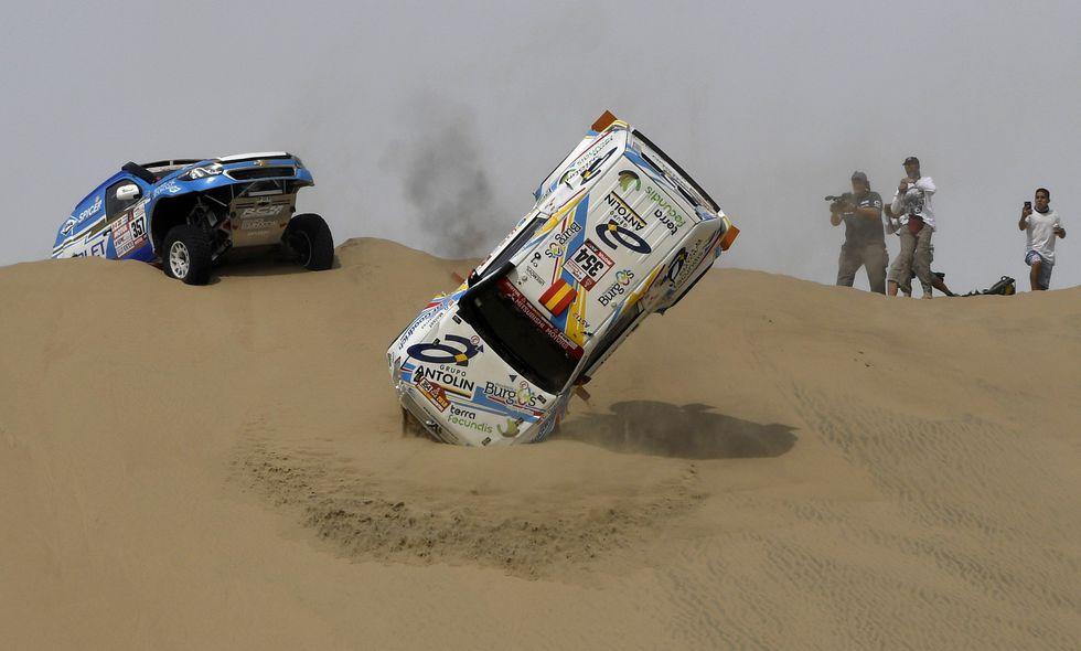 El Rally Dakar rompe fuegos el 7 de enero. (AFP)