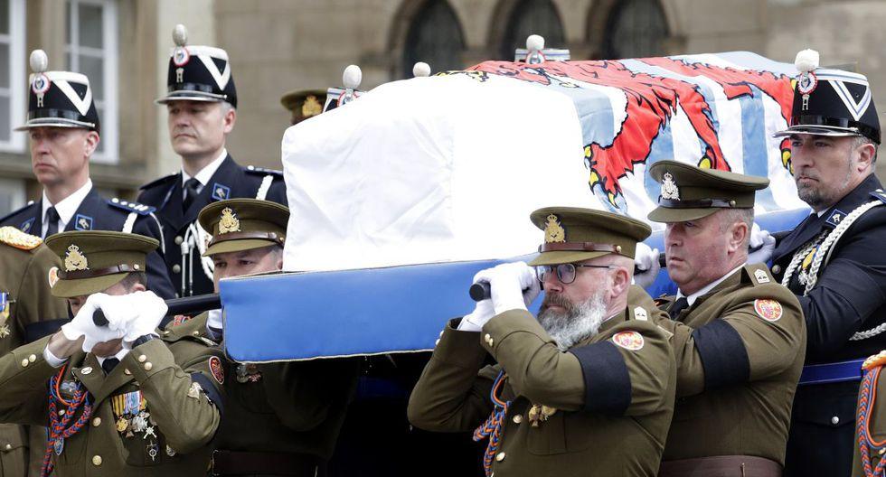 Familias reales de Europa despiden al gran duque Juan de Luxemburgo. (Foto: EFE)