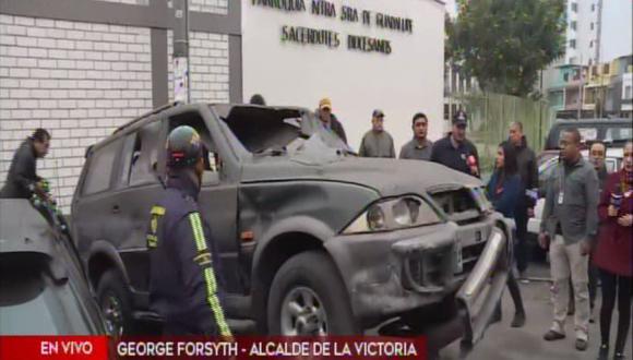 La Municipalidad de La Victoria llevó al depósito a vehículos en mal estado.