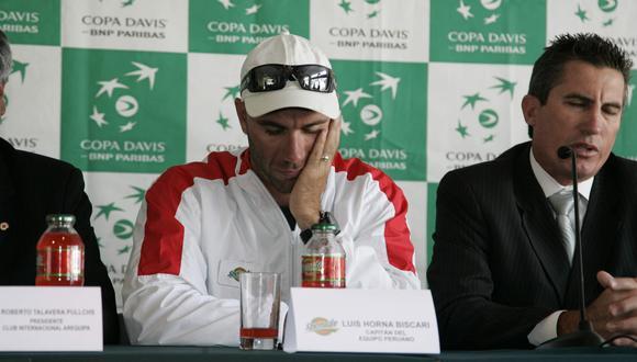 """""""Hoy yo he tenido suerte, pero mucha gente no"""" señaló Luis Horna en referencia al atropello que sufrió este sábado. (Foto: GEC)"""