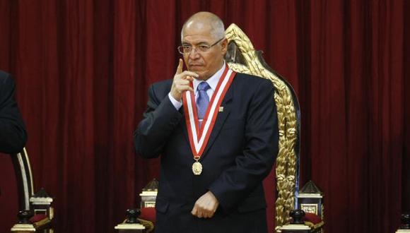 A FOJAS CERO. San Martín dijo que se ha puesto punto final a un tema que ha dado muchas vueltas. (Luis Gonzáles)