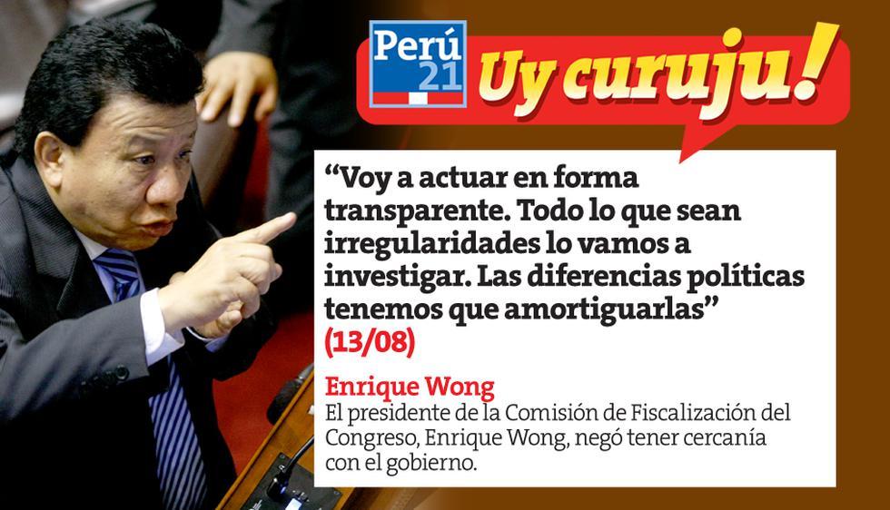 Uy curuju: Las 10 frases políticas de la semana. (Perú21)