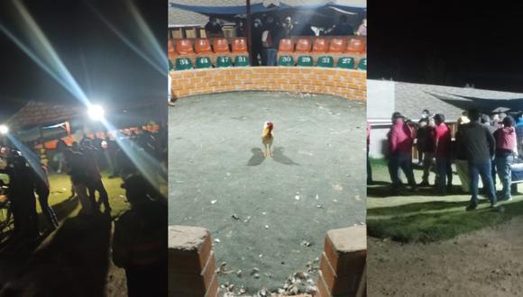 Arequipa: Infractores se encontraban consumiendo bebidas alcohólicas en el lugar (Foto: PNP)