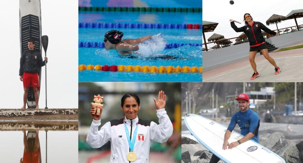 Algunos de los deportistas peruanos que lograron medallas en los Juegos Lima 2019. (Perú21)