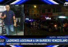 Asesinan a barbero venezolano en el interior de su local en independencia