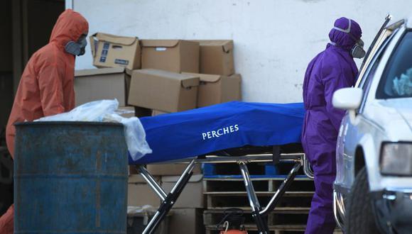 Estados Unidos registra más de 400 mil fallecidos por coronavirus, según Johns Hopkins. (EFE/Luis Torres).