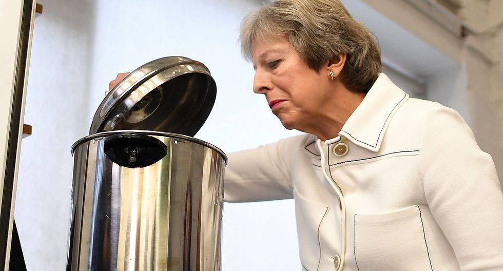 La primera ministra británica, Theresa May, se juega sus últimas cartas ante la Unión Europea. (Foto: AFP).