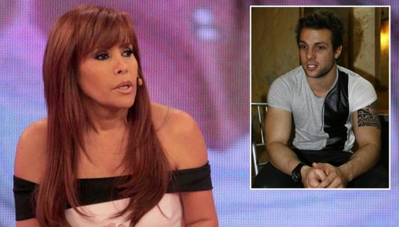 Magaly Medina dice que Nicola Porcella debe pronunciarse sobre audios en los que Angie Arizaga lo acusa de agredirla. (USI)
