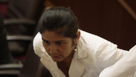 PROTEGIDA. Desde 2010 se evidenciaron los supuestos vínculos de Nancy Obregón con el narcotráfico. (Martín Pauca)
