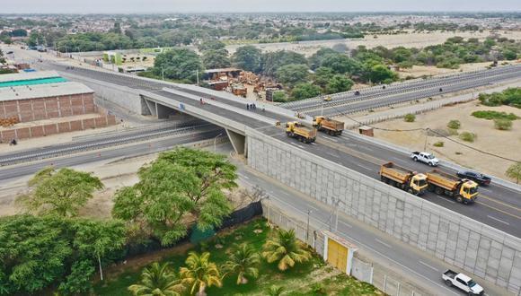 El paso a desnivel y sus accesos, demandaron una inversión adicional de más de S/17 millones .