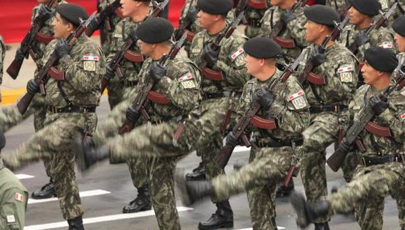 Se viene la renovación militar. (Difusión)