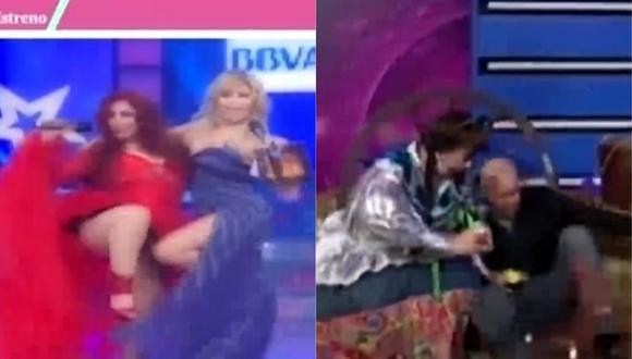 Los bloopers que quedaron registrados en la TV peruana. (Video: Captura América TV)