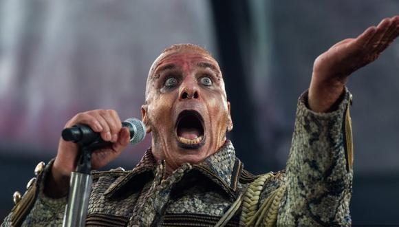 El cantante de Rammstein, en cuidados intensivos por coronavirus (Foto: AFP)