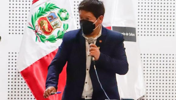 "Guido Bellido: ""No existe ningún gabinete fraccionado"""