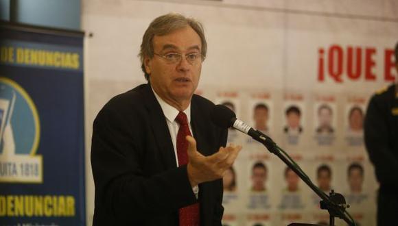 Carlos Basombrío fue citado para este miércoles a la Comisión de Defensa del Congreso. (Mario Zapata/Perú21)