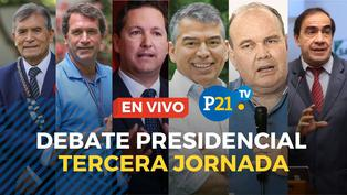 Debate Presidencial organizado por el JNE
