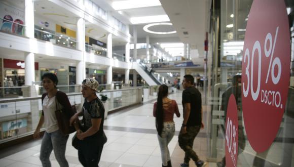 El Ministerio de la Producción indicó ayer que las ventas del sector retail se podrían expandir hasta 6% este año y sumar más de S/ 38,000 millones. (Foto: USI)