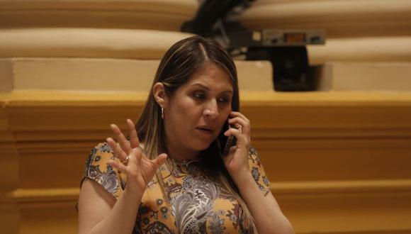 La legisladora no agrupada considera que ejercen violencia contra ella por ser mujer.