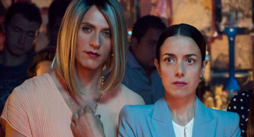 Maria José (Paco León) y Paulina (Cecilia Suárez). (Netflix)