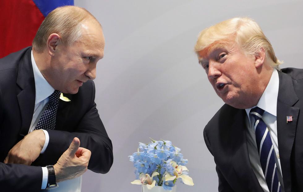 Vladimir Putin y Donald Trump celebrarán una cumbre el próximo 16 de julio en Helsinki. (AFP)