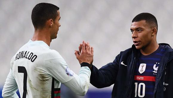 Portugal vs. Francia se miden en la fecha 5 de la Liga de Naciones. (Foto: AFP)