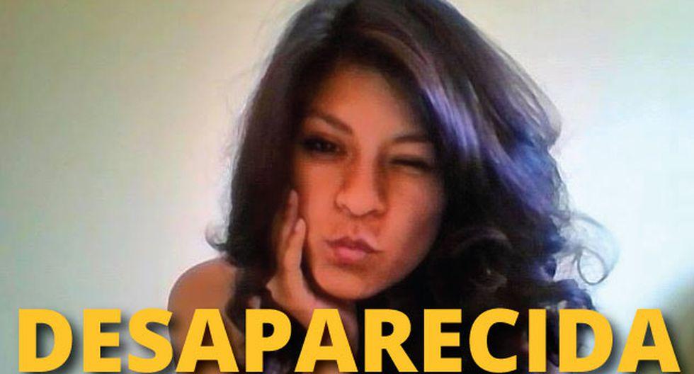 Shirley Villanueva Rivera se encuentra desaparecida desde el jueves 23. (Facebook)