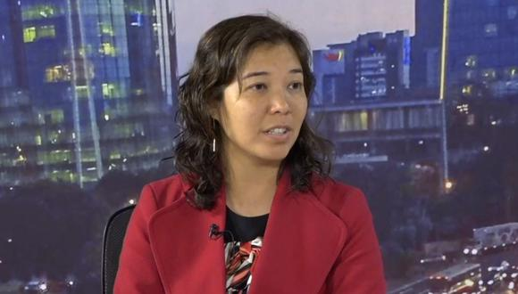 Romy Chang en Perú21TV