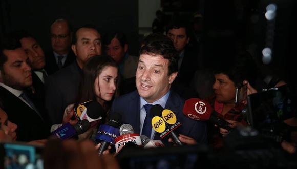 Renzo Reggiardo. (Renzo Salazar/Perú21)