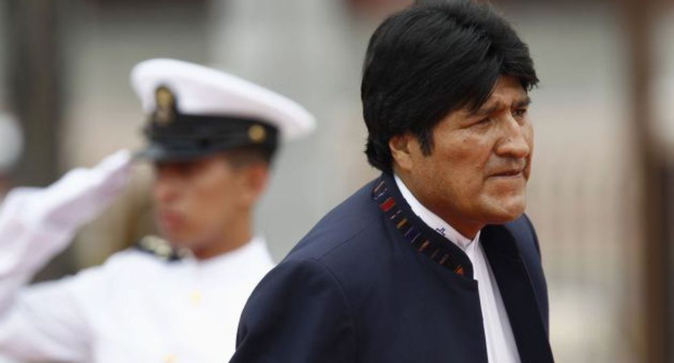 Morales habló desde La Paz a su regreso de Italia y Holanda. (Reuters)