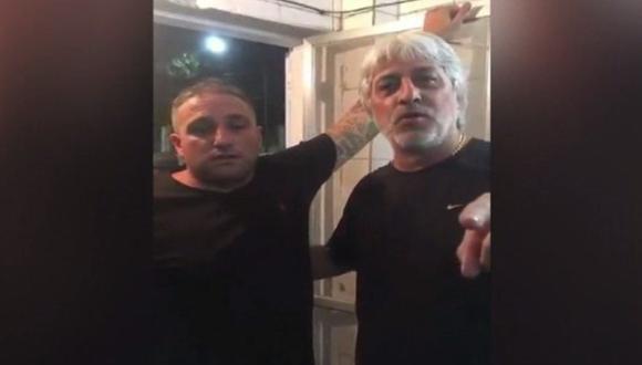 Rafael Di Zeo y Mauro Martín, líderes de la barra 'La 12' de Boca Juniors, anunciaron que serán recibidos en la capital peruana por la Peña Julio Meléndez.