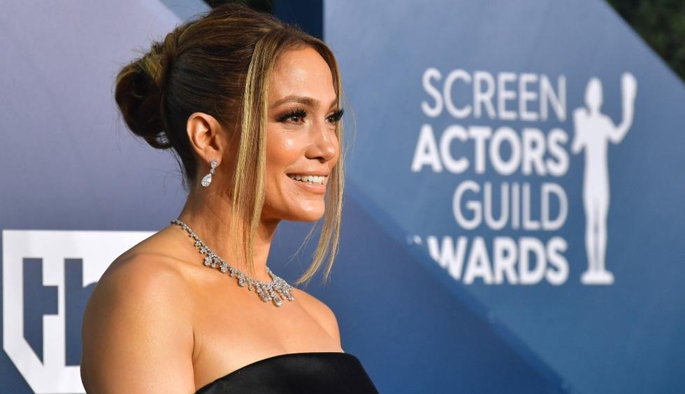 """Jennifer Lopez se convirtió en uno de los principales rostros de la temporada de premios por su papel """"Hustlers"""". (Foto: AFP)"""