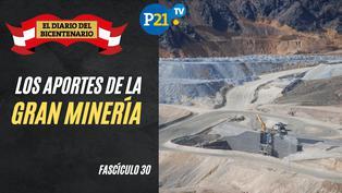 Los aportes de la gran minería
