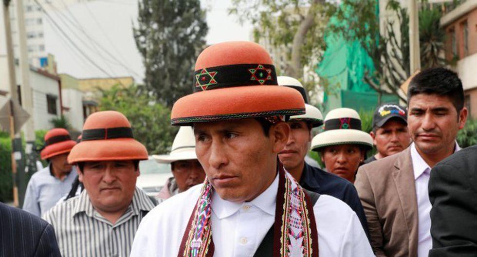 Gregorio Rojas también saludó la suspensión de los dos jueces de Cotabambas. (Foto: GEC)