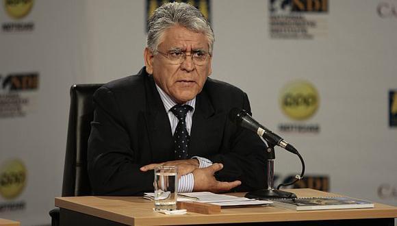 Jiménez era el último izquierdista cercano al presidente Humala. (USI)