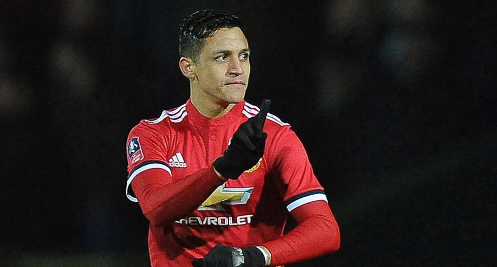 Alexis Sánchez volverá a Manchester United, reveló el entrenador del cuadro inglés. (Foto: AFP)