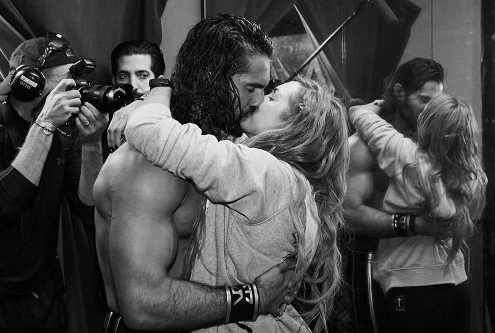 Seth Rollins y Becky Lynch, estrellas de la WWE, confirman romance. (Instagram)
