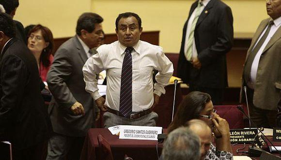 Autoridad regional usará sede del Legislativo como tribuna para sus objetivos políticos. (Rafael Cornejo)