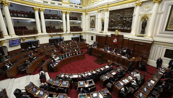 El Congreso de la República sesionará este martes a las 10 de la mañana. (Foto: GEC)