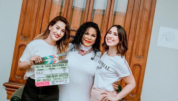 Eva Ayllón tendrá una pequeña participación en la cinta que se estrena en abril del 2020.  (Foto: No me digas solterona)