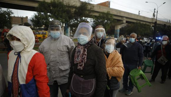 Cifras de decesos y contagios por COVID-19 en Perú sigue en aumento. (Foto: Joel Alonzo/GEC)
