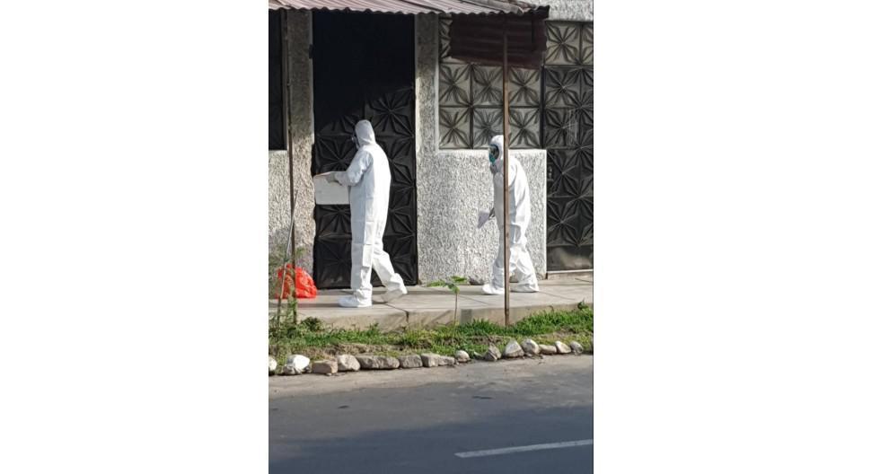 Ica: Personal de la Diresa Ica ubiica a paciente con coronavirus diagnosticado en Lima