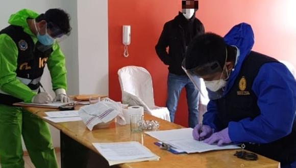 Apurímac: Allanan casa de gobernador regional  de Apurímac, Baltazar Lantarón, investigado por presuntas irregularidades en compra de ambulancias. (Fotos Ministerio Público)