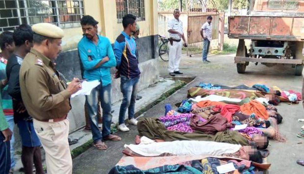 India: Cifra de muertos por intoxicación con alcohol adulterado asciende a más de 150. (EFE)