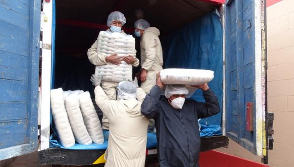 Puno: Entregaron 75.7 toneladas de alimentos para 105 comunidades campesinas (Foto: Qali Warma)
