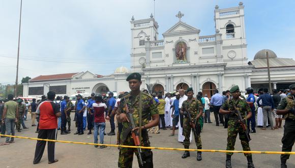 Todas las explosiones ocurrieron hacia las 8:45 horas en Sri Lanka. (Foto: AFP)