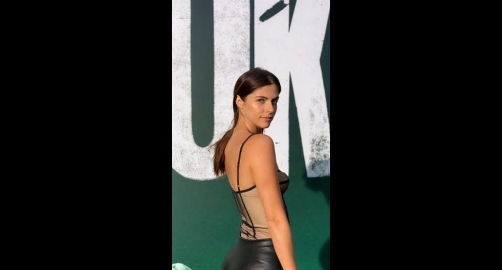 "Stephanie Cayo asistió a la premiere de ""Joker"".  (Foto: Instagram)"