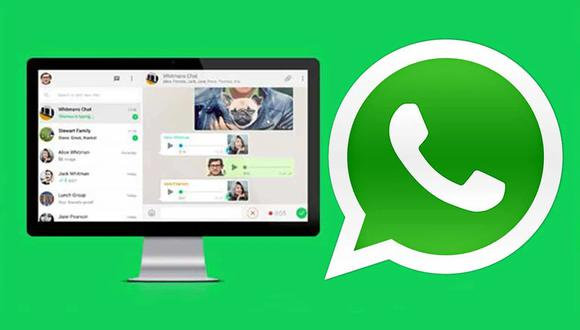 ¿Te olvidaste de cerrar la sesión de WhatsApp Web de tu computadora? Realiza estos pasos. (Foto: WhatsApp)